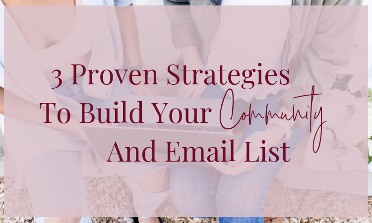 Obtain rapid list and community growth with this 3 simple and proven strategies!
