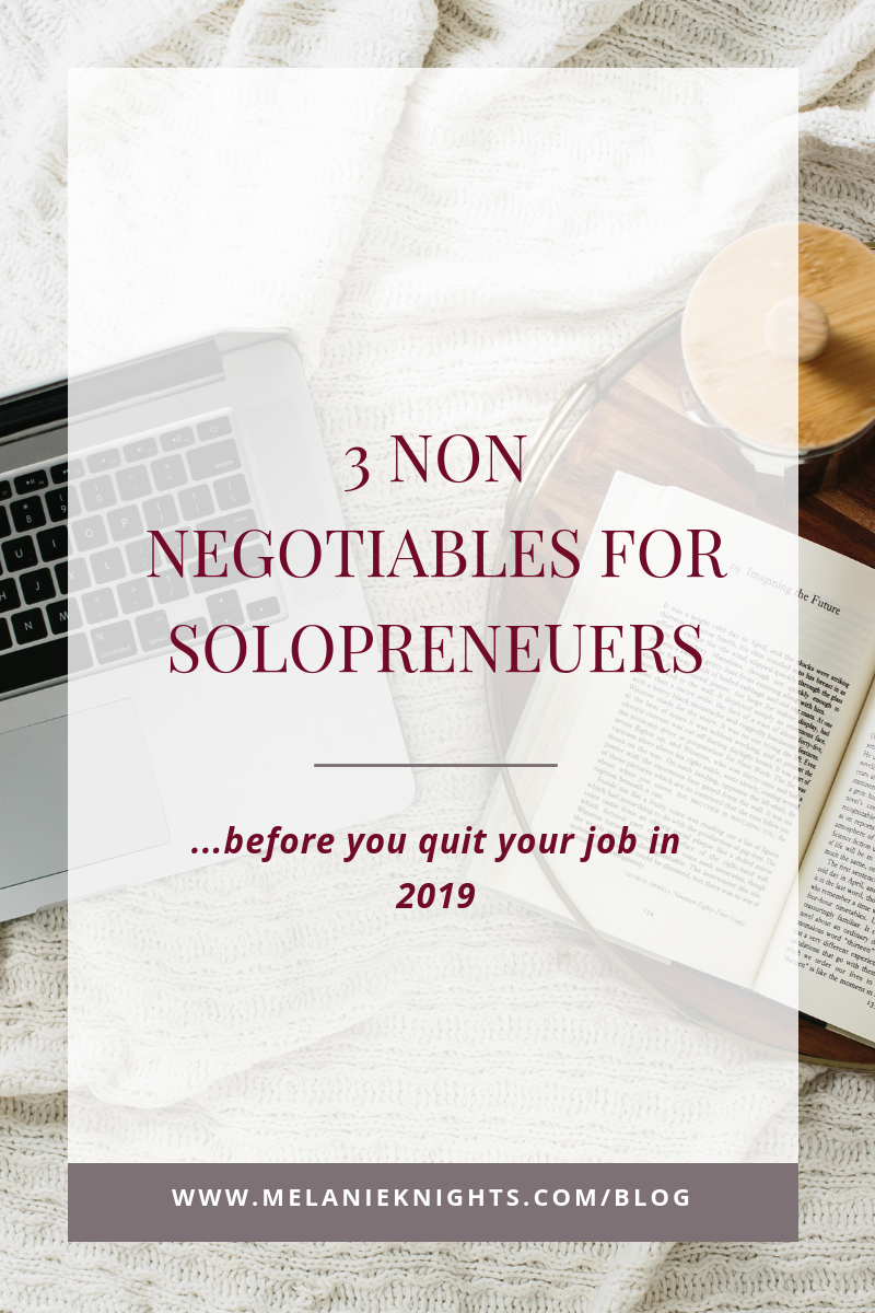 Ready to take your business seriously and quit your job in 2019? Then before you do make sure your business is ready for your success before giving your 2 weeks notice!