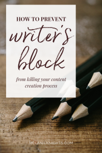How To Prevent Writer's Block From Killing Your Content Process