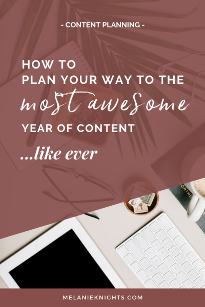 Blog post | How to plan your way to the most awesome year of content ever!