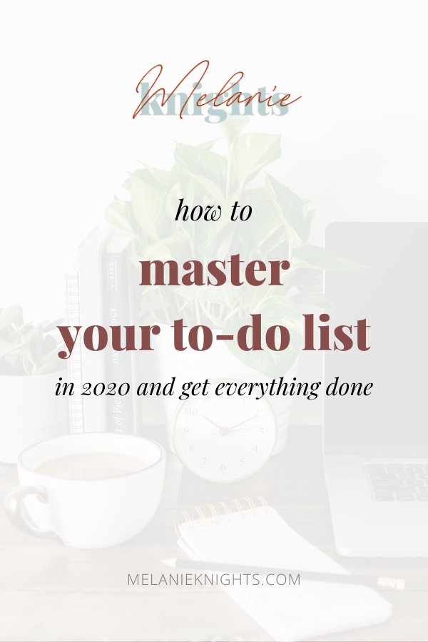 How to master your to-do list in 2020 and get everything done